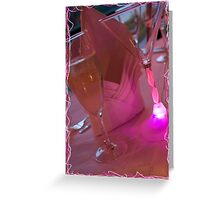 Colorful Reception Greeting Card