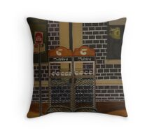 Phone Booths Throw Pillow