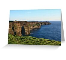 Cliffs of Moher - County Clare - Ireland Greeting Card