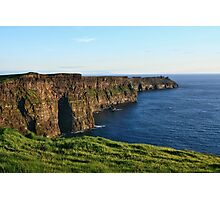 Cliffs of Moher - County Clare - Ireland Photographic Print