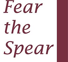 Fear the Spear by mbswiatek