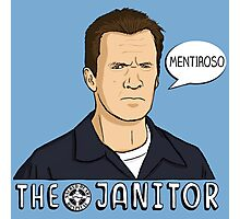 The janitor Photographic Print