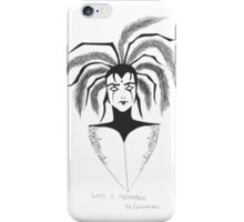 Masquerade, fool them all iPhone Case/Skin