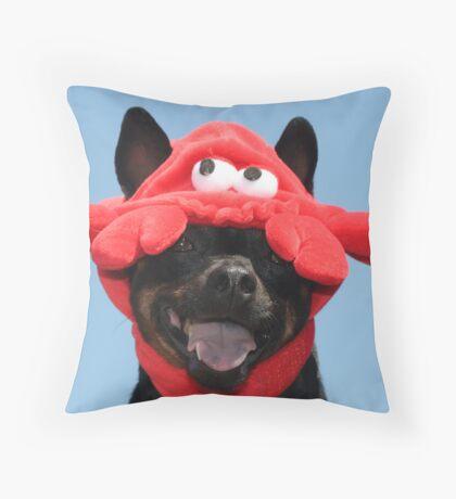 crab face Throw Pillow