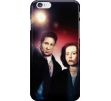Mulder and Scully iPhone Case/Skin