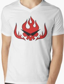 Gurren Brigade Mens V-Neck T-Shirt