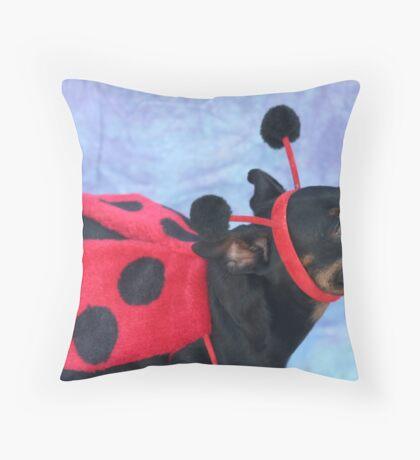 ladybug 1 Throw Pillow