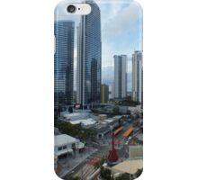 Down town Surfers Paradise Qld Australia iPhone Case/Skin