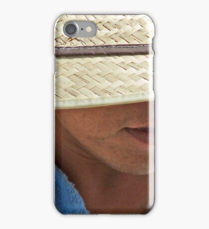 Straw Brim iPhone Case/Skin