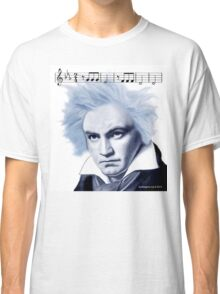 Beethoven and Fifth Symphony Opening Notes Classic T-Shirt
