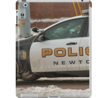 Newtons Finest on Patrol iPad Case/Skin