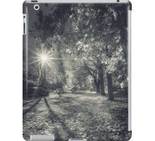 The Last Weekend of Calming Yellow Autumn V iPad Case/Skin