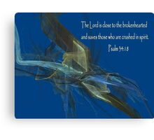 Close To The Brokenhearted Canvas Print