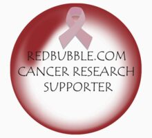 redbubble.com cancer research supporter T-Shirt