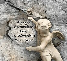 God is Watching Over You by Sheryl Kasper