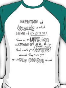 Variation & Diversity T-Shirt