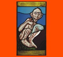 Gollum (Stained Glass) Kids Clothes
