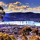Hobart on a Winter's Afternoon by Mishka Góra