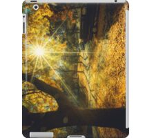 The Last Weekend of Calming Yellow Autumn iPad Case/Skin