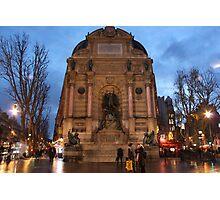 Fontaine Saint-Michel Photographic Print