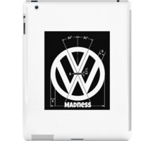 VW Logo Specicication iPad Case/Skin