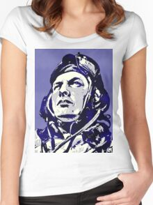 R.A.A.F PILOT Women's Fitted Scoop T-Shirt