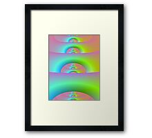 Fractal Ladder Framed Print