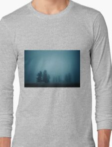 SILENT MORNING, FOG Long Sleeve T-Shirt