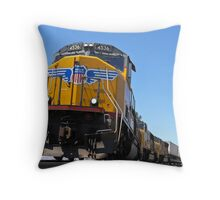 Union Pacific Perspective Throw Pillow