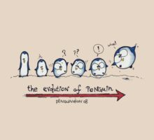 Evolution Of Penguin - PenguiNation T-Shirt