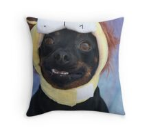 Hurry up and take the picture! Throw Pillow