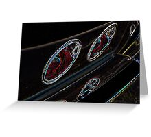 Cruise-in Fusion Depth Perception Greeting Card