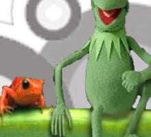Kermit n da homies... Sticker
