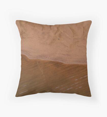 Sand sculpture Throw Pillow