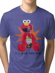elmo's snack Tri-blend T-Shirt