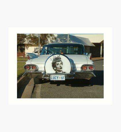 Lucille's Caddy Art Print
