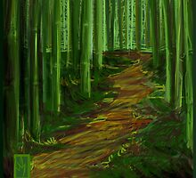 Bamboo Forest by Scott Meyer