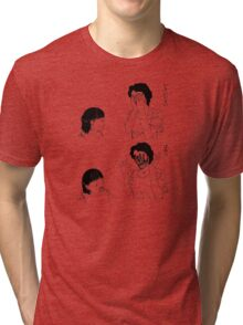 Shintaro – Peek-a-boo Tri-blend T-Shirt