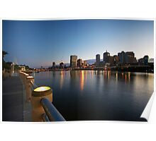 Brisbane At Dawn Poster