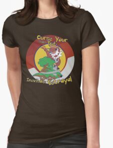 Curse Your Pokemon Betrayal  Womens Fitted T-Shirt