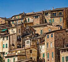 Siena / Italy by Kurt  Tutschek