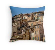 Siena / Italy Throw Pillow