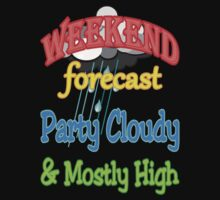 Weekend Forecast - Party Cloudy & Mostly High by spaceyqt