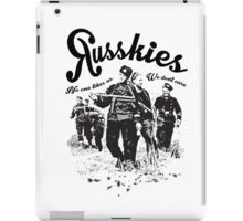 Russkies iPad Case/Skin