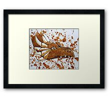 The Dragon of Nescafe Forest Framed Print