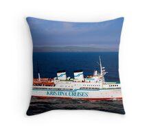 MV Kristina Regina Throw Pillow