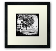 The Old Farmhouse Framed Print