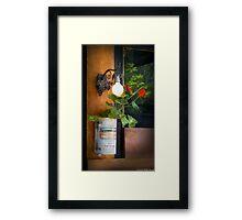 Extra Strong, Dijon Mustard Framed Print