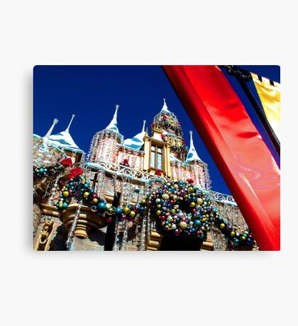 Regal Holiday Welcome Canvas Print