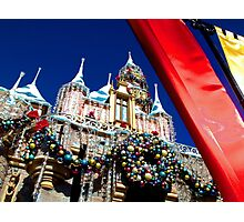 Regal Holiday Welcome Photographic Print